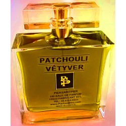 PATCHOULI VÉTIVER (FOR MEN) - EAU DE PARFUM (Flacon Luxe 100ml / Sans Boite)