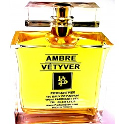 AMBRE VÉTYVER - EAU DE PARFUM (Flacon Luxe 100ml / Sans Boite)