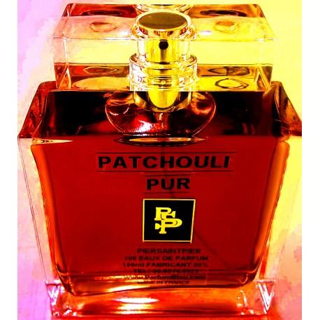 PATCHOULI PUR - EAU DE PARFUM (Flacon Luxe 100ml / Sans Boite)