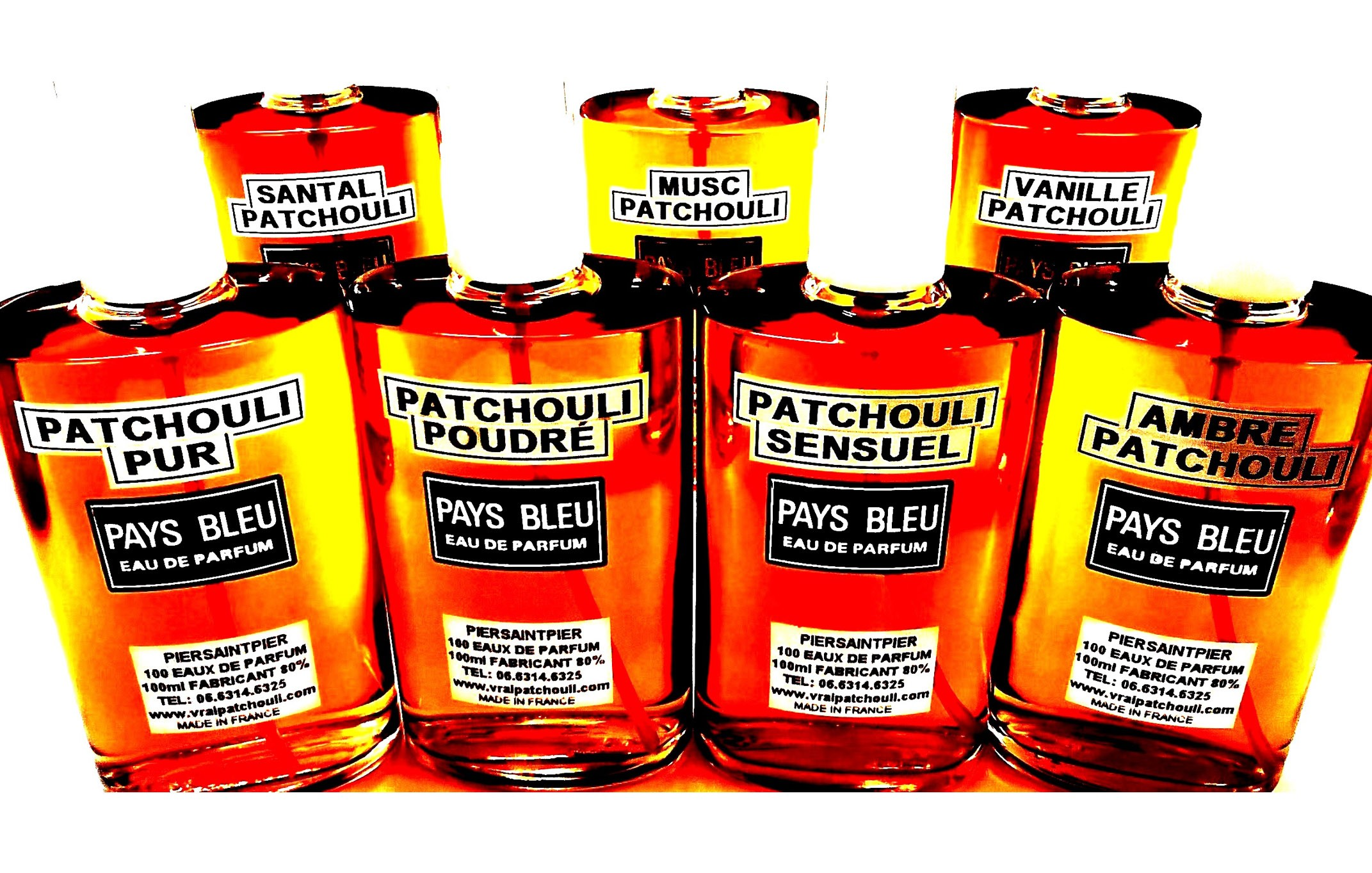 PALETTE DES 7 PATCHOULIS